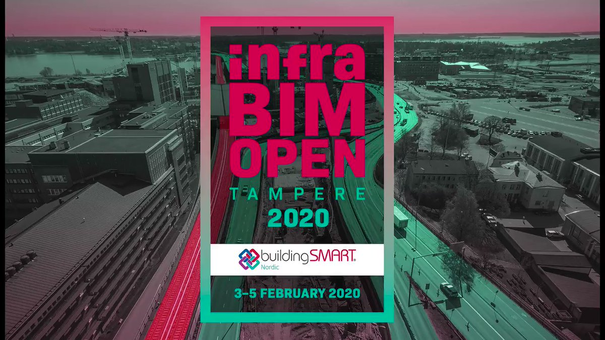 @InfraBIMOpen: Registration is open! Be an early bird!  The program will be published on 6 November. As Tarmo Savolainen from @Vaylafi says, the presentations will bring the light to the winter! See you in February!  https://t.co/qFWDkeoEob #infraBIMopen #BIM #openBIM #infrastructure @TTS1975 https://t.co/2ZpVNYb3Ln