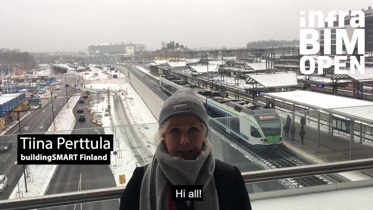 @InfraBIMOpen: Early Bird fees for #infrabimopen are available until November 18! Hurry up! @perttulatiina from #buildingsmartfinland wishes all of you welcome to the conference!   Check out our stunning programme and and join us in February! https://t.co/qFWDkeoEob  #openbim #infrastructure https://t.co/sokDnorKHj