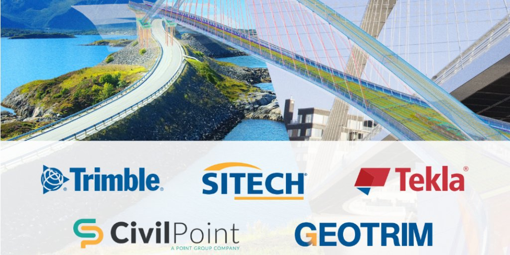 @InfraBIMOpen: @Trimblejulkisha, @Tekla, @Civilpoint, @Geotrim_oy and Sitech have joined forces to present newest technologies in connected infrastructure and construction. Welcome to visit our common booth, meet our professionals to discuss more and get to know our software solutions. https://t.co/b8JFgmH86K